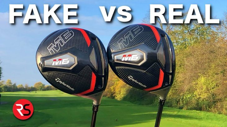 FAKE vs REAL|激安の怪しいサイトで、テーラーメイドのM6ドライバーを買ってみたら偽物だったので本物と打ち比べてみた!|Rick Shiels Golf