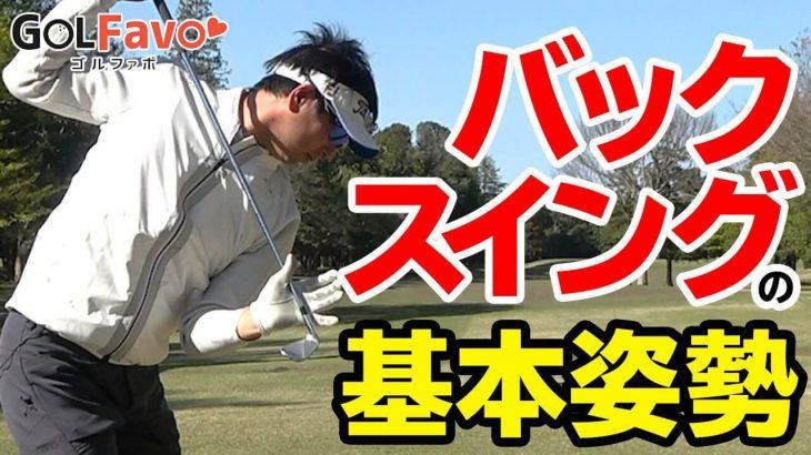 バックスイングで注意すべきたった1つのポイント|ボールとの距離が離れないように上げる|プロゴルファー わたり哲也