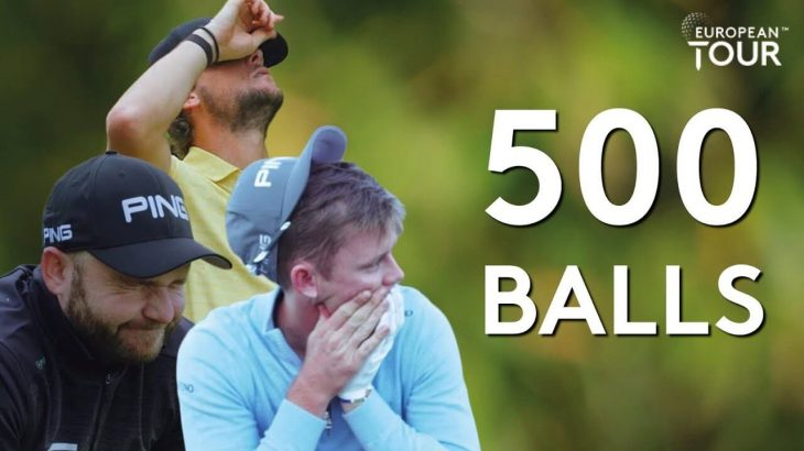 ホールインワン達成するか500球打つまで帰れません!企画のベストショット映像集|European Tour(欧州男子ゴルフツアー)公式チャンネル