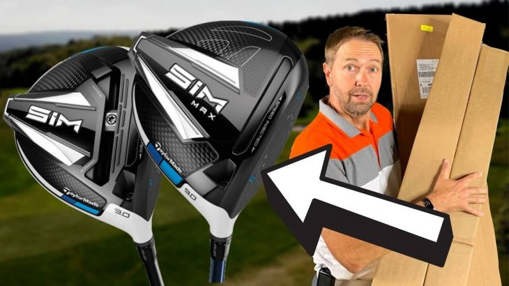 TAYLORMADE SIM DRIVER vs SIM MAX DRIVER MID HANDICAP TEST REVIEW|James Robinson Golf