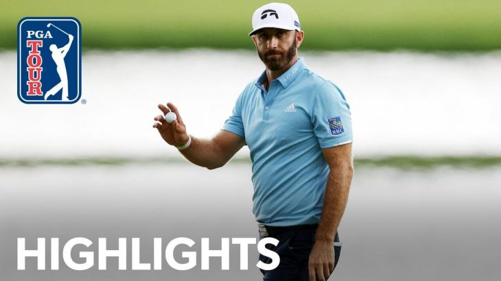 Dustin Johnson(ダスティン・ジョンソン) Winning Highlights|Travelers Championship 2020
