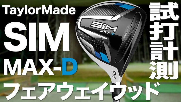 テーラーメイド SIM MAX D-Type フェアウェイウッド 試打インプレッション|プロゴルファー 石井良介