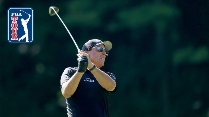 Phil Mickelson(フィル・ミケルソン)選手の練習風景|Workday Charity Open 2020