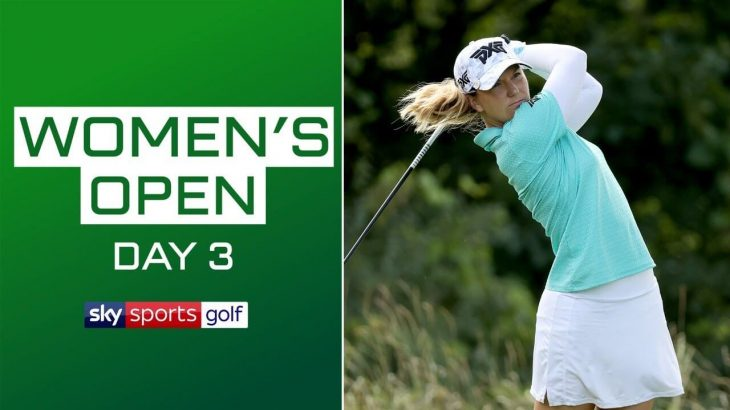 LIVE GOLF Archived|Round 3|AIG Women's Open 2020