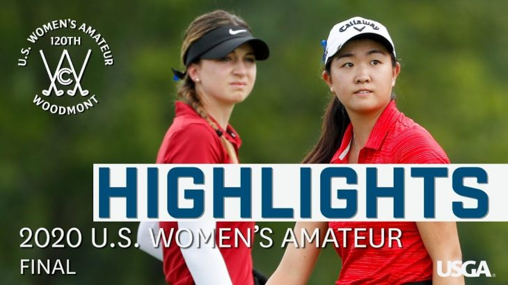 2020 U.S. Women's Amateur Final: Every Televised Shot