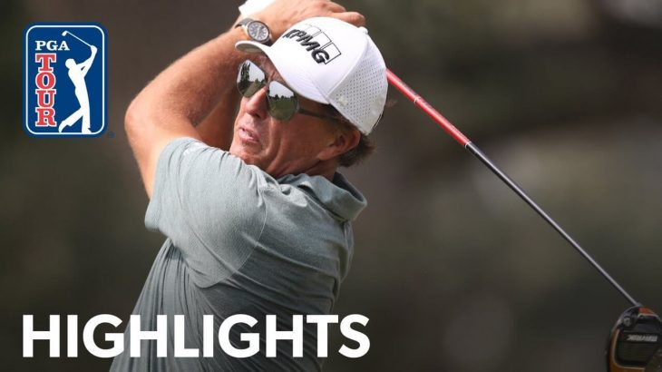 Phil Mickelson(フィル・ミケルソン) Highlights|Round 3|Safeway Open 2020