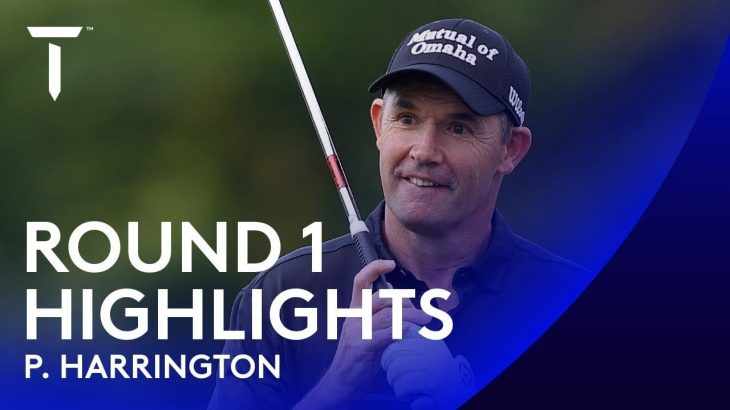 Pádraig Harrington(パドレイグ・ハリントン) Highlights|Round 1|2020 Dubai Duty Free Irish Open