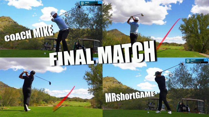 CAN MR.SHORTGAME FINALLY WIN VS COACH?|YOUTUBER MONEY MATCH CONTINUES!
