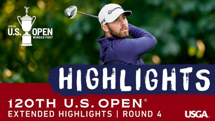 Extended Tournament Highlights|Round 4|2020 U.S. Open Championship