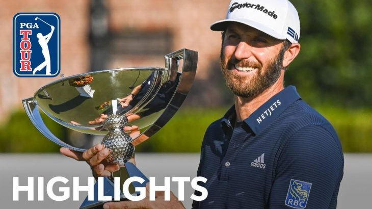 Dustin Johnson(ダスティン・ジョンソン) Winning Highlights|TOUR Championship 2020