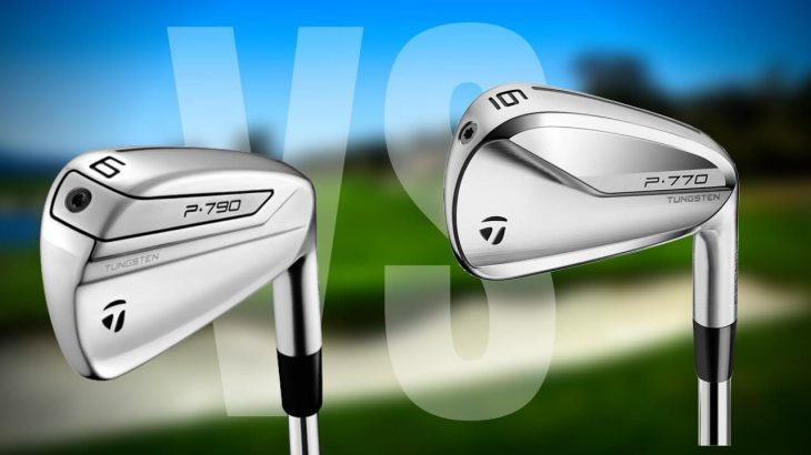 TaylorMade P770 Irons(2020Model)vs P790 Irons(2019Model) Review|James Robinson Golf