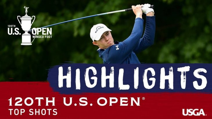 全米オープン(2020年)のスーパーショット映像集|2020 U.S. Open Championship Top Shots