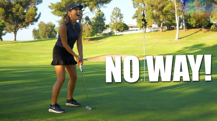 IT CAME DOWN TO THE LAST PUTT!|BATTLE OF THE BABES TOURNAMENT|MATCH #1
