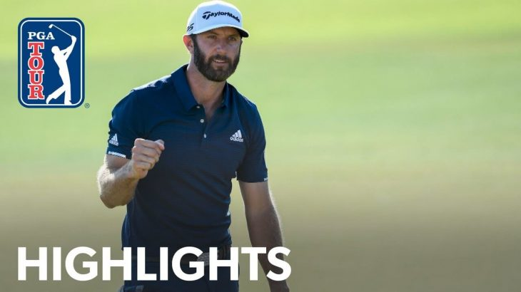 Dustin Johnson(ダスティン・ジョンソン) Highlights|Round 4|TOUR Championship 2020