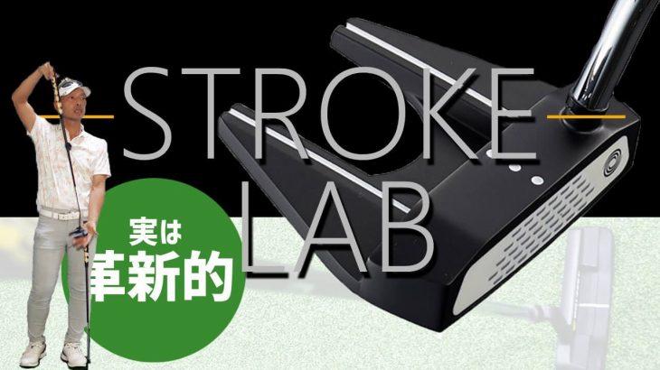 オデッセイ STROKE LAB(ストロークラボ) BLACK シリーズ パター(2020年モデル)試打インプレッション|変幻自在に球を操るクラブフィッター 筒康博
