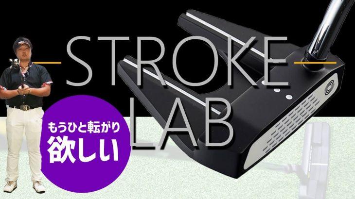 オデッセイ STROKE LAB(ストロークラボ) BLACK シリーズ パター(2020年モデル)試打インプレッション|フルスイング系YouTuber 万振りマン