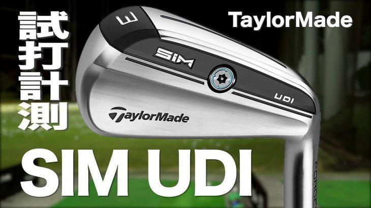 テーラーメイド SIM UDI(アイアン型UT) 試打インプレッション|プロゴルファー 石井良介