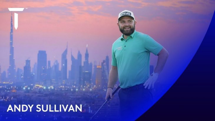 Andy Sullivan(アンディー・サリバン) Highlights|Round 2|2020 Golf in Dubai Championship presented by DP World