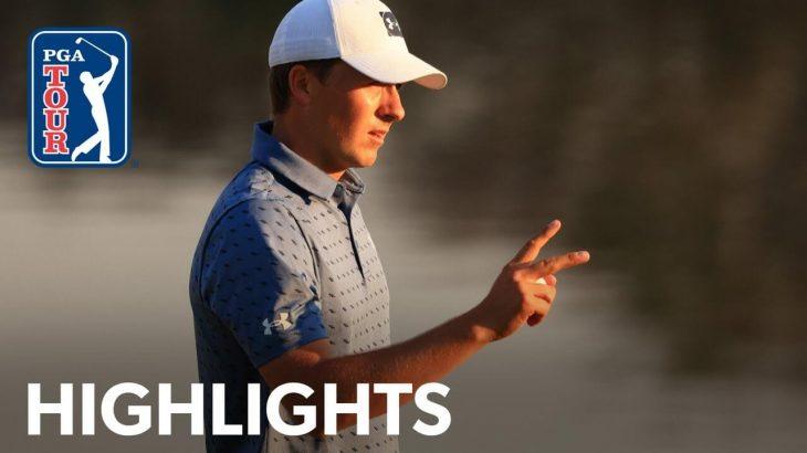 Jordan Spieth(ジョーダン・スピース) Highlights|Round 2|Arnold Palmer Invitational 2021