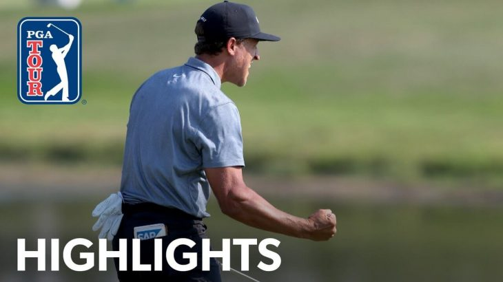 Cameron Champ(キャメロン・チャンプ) Highlights|Round 4|3M Open 2021